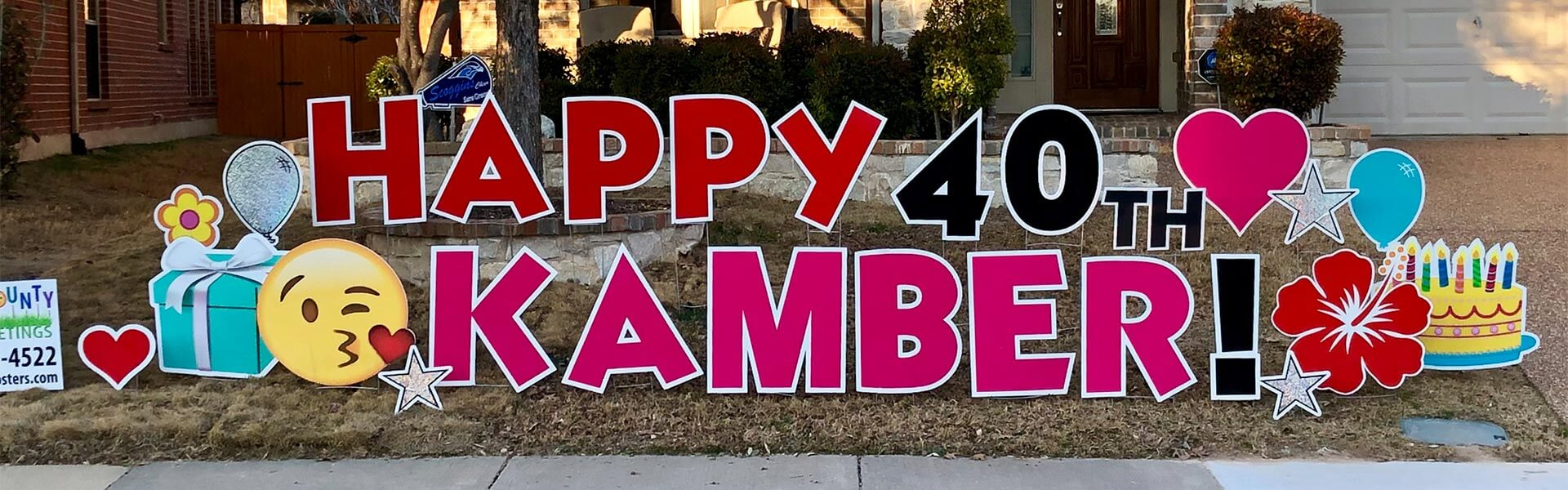 Happy 40th Kamber