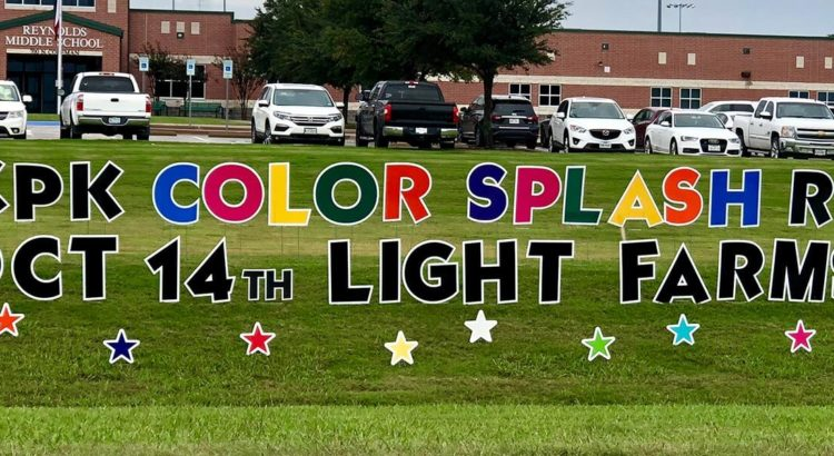 KPK Color Splash Run Oct 14th Light Farms