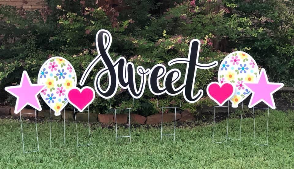 yard graphics of Sweet