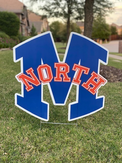 North M logo