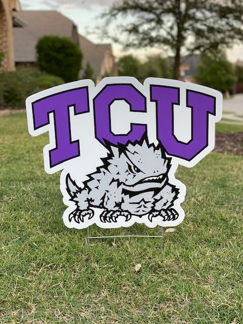 Texas Christian University TCU logo
