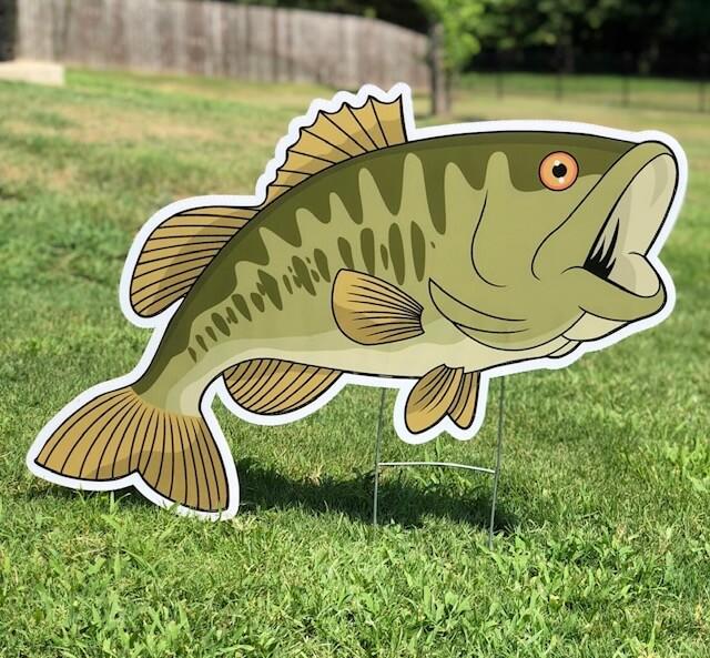 A largemouth bass