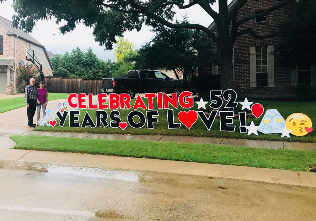 Celebrating 52 years of love