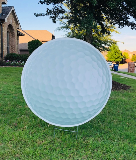 a golfball