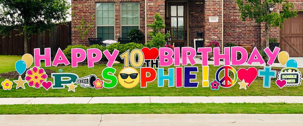 Happy 10th birthday Sophie!