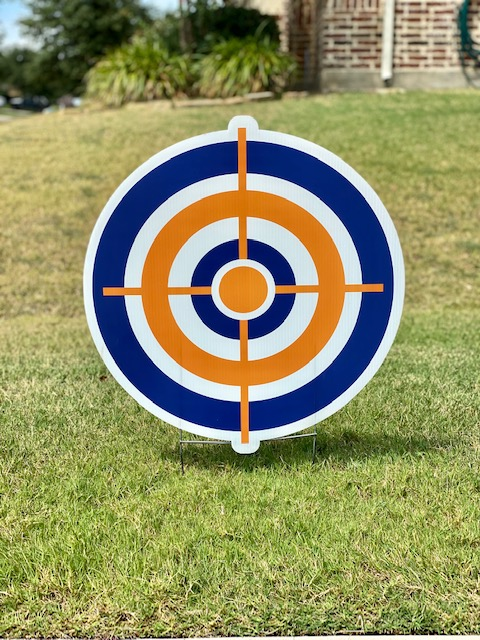 A Nerf target