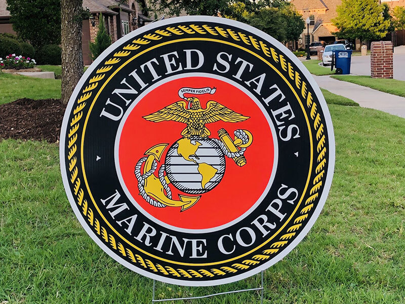 The US Marine Corps logo