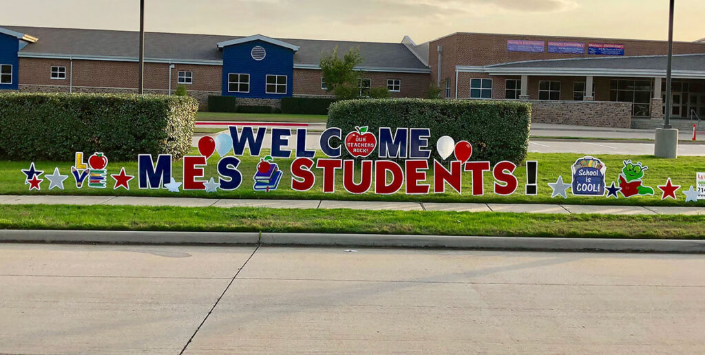 welcome mes students!