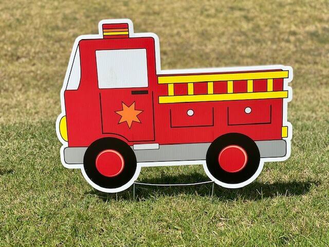 A red firetruck