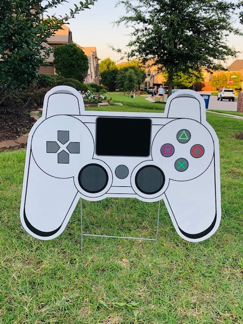 White video game controller
