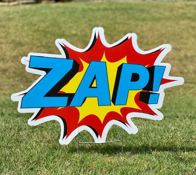 The word ZAP!