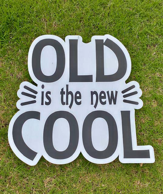 Old is the new cool