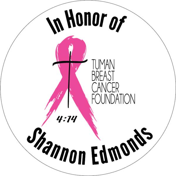In honor of Shannon Edmonds